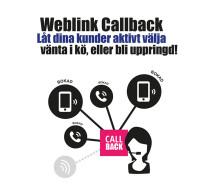 NY PRODUKT – Weblink Callback
