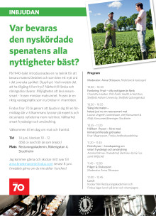 Program Findus matseminarium 14 juni