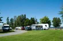 Rekordstor ökning av gästnätter på camping i Destination Läckö-Kinnekulle 2018