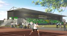 En grön idrottsoas växer fram