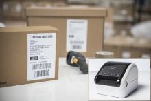 Nouvelles imprimantes d'étiquettes pour la vente en ligne et le processus d'expédition