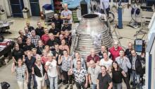 Invigning av ny rymdfabrik i Trollhättan