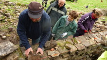 Places available on weekend dry stone walling course