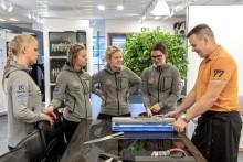 Malin Söderströms stipendum - Årets stipendiaterna besöker Sundqvist