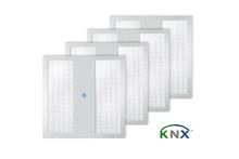 Intelligent arbetsljus för KNX – ESYLUX uppdaterar systemlösningen NOVA QUADRO