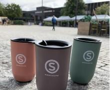 Salget av kaffe til gjenbrukskopper har økt med 80 % på campus