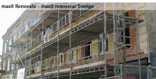maxit Renovate - skräddarsydda och energibesparande renoveringar för fasader, balkonger, våtrum och golv.