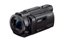Leg elk detail van je leven vast in 4K1 met de compacte nieuwe Handycam® van Sony