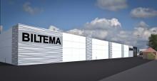 Abetong bygger nytt lager åt Biltema i Halmstad