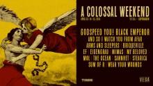 The Ocean fuldender sammen med syv andre navne A Colossal Weekend-programmet