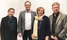 Landshövdingen med chefsgrupp besökte Norsjö