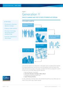 Generation Y 3 - Kommer det traditionella kontoret att finnas till inom den närmsta framtiden?