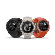 Garmin® Instinct® on jämäkkä GPS-kello moniin lajeihin ja vaihteleviin olosuhteisiin