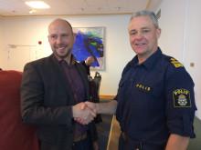 Förnyad samverkansöverenskommelse mellan  Umeå kommun och Polismyndigheten