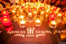Genuss ohne Strom: Ein Candlelight-Dinner der besonderen Art