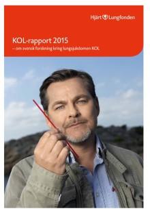 KOL-rapporten 2015: Allt fler KOL-sjuka mår bättre