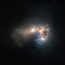 Galax föder stjärnhopar i hisnande takt