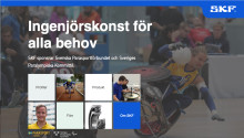 SKF förlänger samarbetet med Parasporten i Sverige