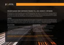 JOOL Markets AS - Rekryteringsannons - Projektledare