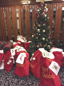 Christmas party for foster children and their carers