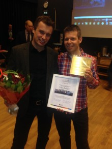Prisceremoni, Årets Haningebyggnad 2013!