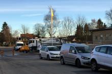 Vattenleveransen är tillbaka i Eslöv, men kokrekommendationen består