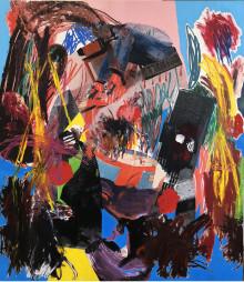 Jannis Varelas, Hans Andersson, Tuija Lindström på Galerie Forsblom, Stockholm