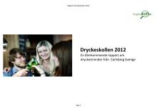 Rapport: Dryckeskollen Carlsberg Sverige 2012