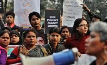 Manifestation idag: Vi accepterar inte att mäns våld begränsar kvinnors liv, varken i Sundbyberg eller New Delhi. Nu räcker det!