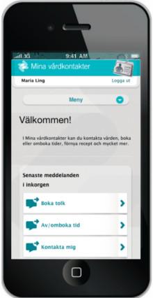 Vårdens e-tjänster mobilanpassas