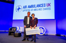 Allianz beats £1million charity target for Air Ambulances UK