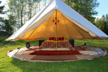 Glamping – en lyxigare campingupplevelse