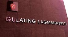 Da Gulating Lagmannsrett skrev Norges lover