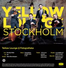 Från konsertsalen till klubbscenen: Yellow Lounge på Fotografiska