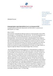 Pressemitteilung Weltmarktführer-Forum