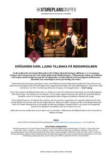 Karl Ljung x Gamla Riksarkivet Julbord