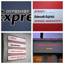 Speed International tar över Sidewalk Express, Clarex gör skyltarna igen!