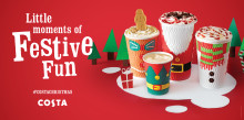 Step into Costa for 'Little Moments of Festive Fun' this Christmas