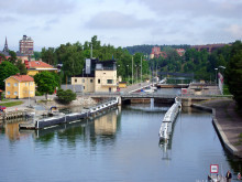 Slussbygget i Södertälje försenas