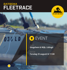 Datscha Fleet Race 2016