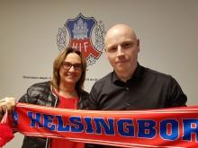 Stadium är ny partner till Helsingborgs IF