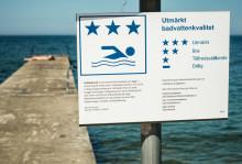 Inför badsäsongen: 86 procent av Sveriges EU-bad  får betyget godkänt eller högre