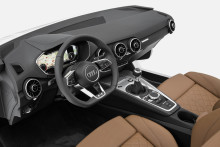 Puristisk, sportig och rena linjer – Audi presenterar interiören i Nya Audi TT under CES i Las Vegas