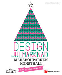 Designjulmarknad för barn på flykt