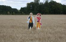 Mangafigurer lockar Väsbys unga till miljöengagemang