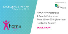 HPMA North West Masterclass & Awards Celebration