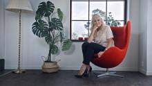 Maria Montazami stylar om hemma hos säljaren i Blockets nya reklamfilm