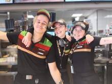 Burger King Trondheim støtter Rosa Sløyfe