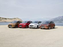 Nya Ford Fiesta blir säkrare i Sverige