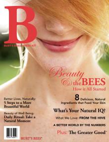 Pressmaterial Burt´s Bees